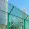 Установка забора из секций высотой до 2,4 м на готовое основание с Г наконечником и секцией 530 мм