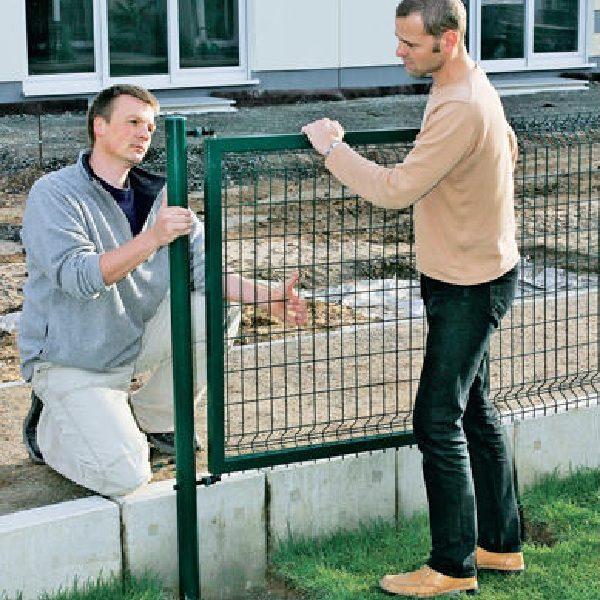 Строительство секционного ограждения высотой до 2,4 м на готовую основу (анкеровка)