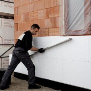 Утепление фасада пенопластом 50 мм (без финишного покрытия)