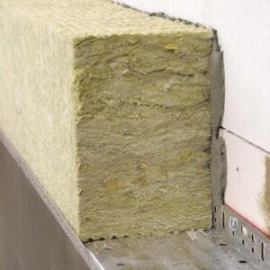 Утепление фасада минеральной ватой 100 мм (без финишного покрытия)