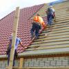 Монтаж металлочерепицы – сложная крыша (металл и планки) 23387