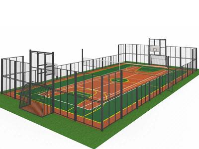 Системы ограждений для спортивных площадок