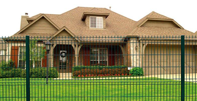 Секционные ограждения для домов и коттеджных городков