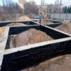 Строительство монолитного ленточного фундамента простого