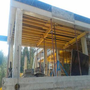 Строительство монолитной балки сечением 300х300 мм
